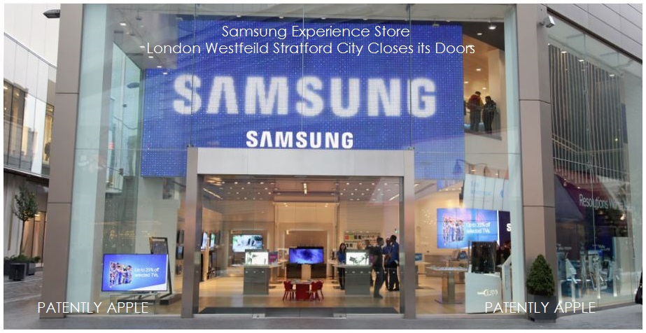 Samsung's Flagship Store in London Closes, Can't Match the