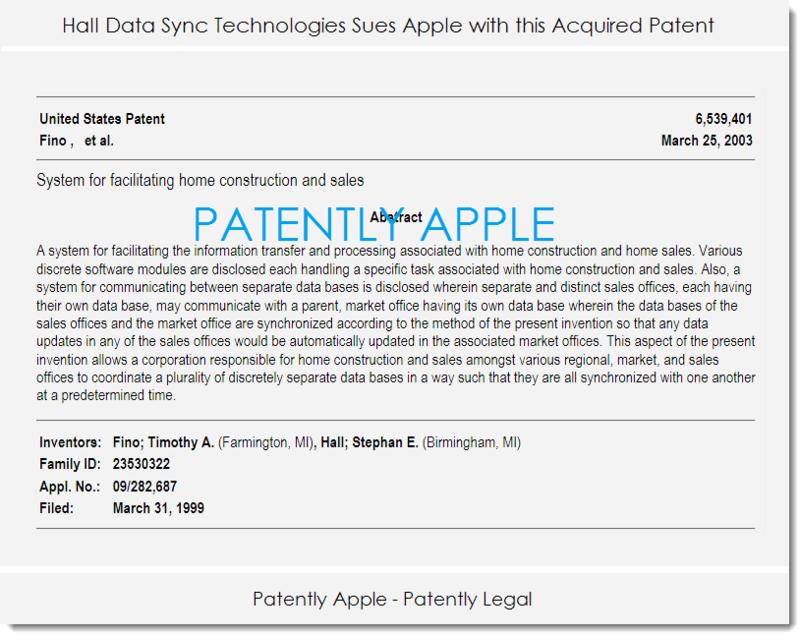 2af hall data sync v. Apple