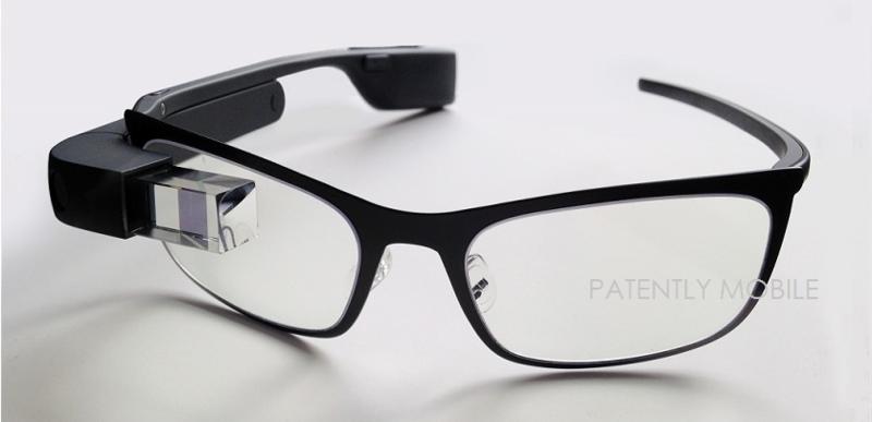 2af google glass granted design patent