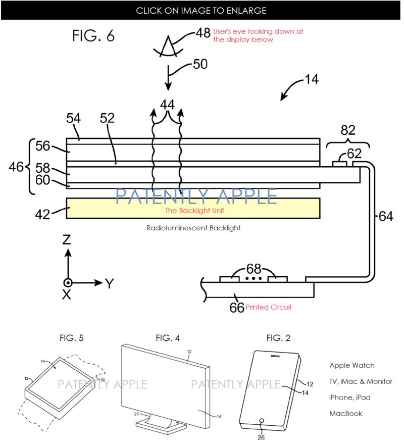 2AF 2 - new apple backlight invention
