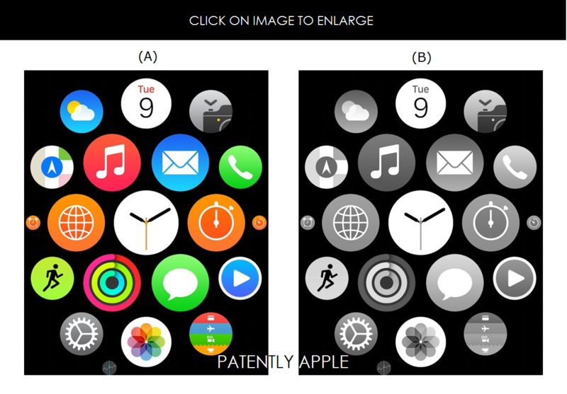 7 CHINA, HONG KONG, APPLE WATCH INTERFACE FOR APPS  TM APPLICATION