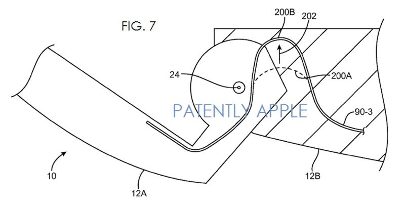 2AF 2 macbook hinge patent