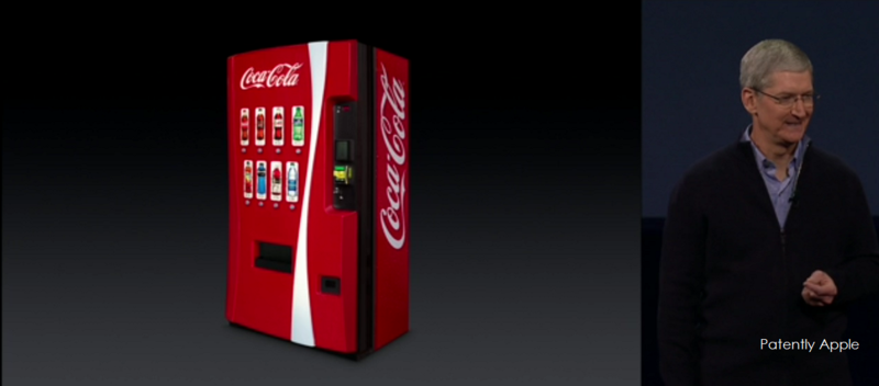 9.4 Coke Vending Machines for Apple Pay