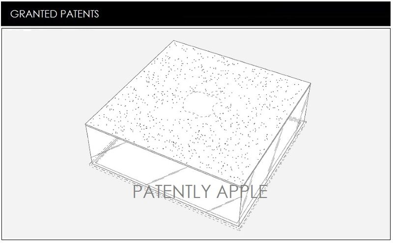 1 COVER - APPLE STORE INSTANBUL TURKEY, GLASS LANTERN GRANTED A PATENT - PATENTL Y APPLE REPORT APRIL 7, 2015