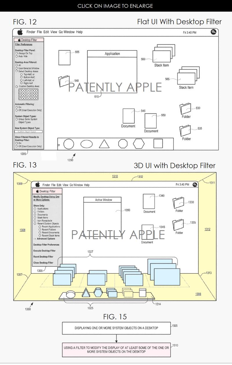 2af desktop filter + 3D UI