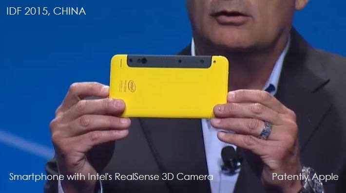 3AF 55 - smartphone with 3d real sense camera