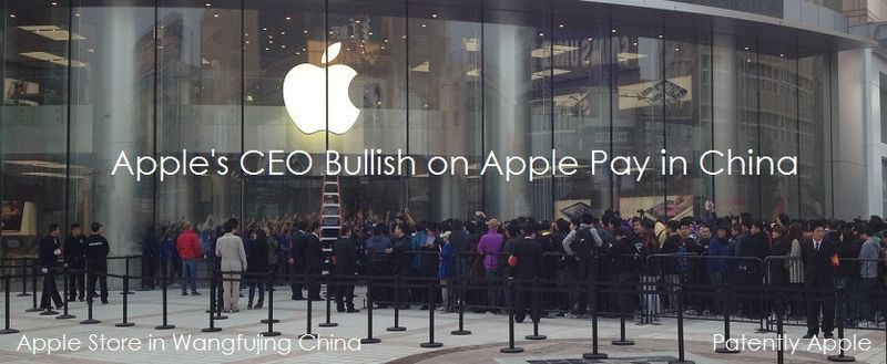 1AF 55 COVER APPLE'S CEO BULLISH ON APPLE PAY IN CHINA