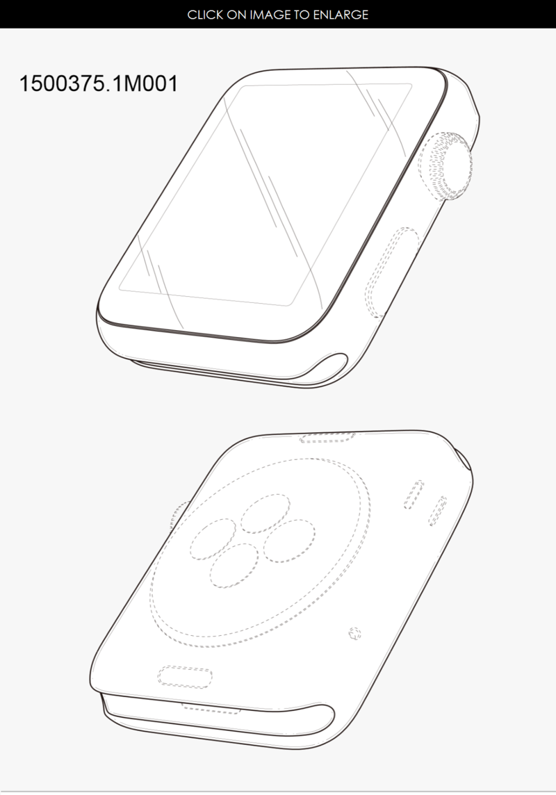 3AF APPLE WATCH BODY DESIGN PATENT - PATENTLY APPLE