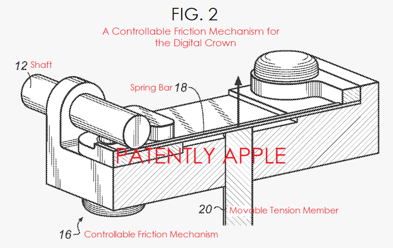 3AF - Apple rotary FRICTION dial patent