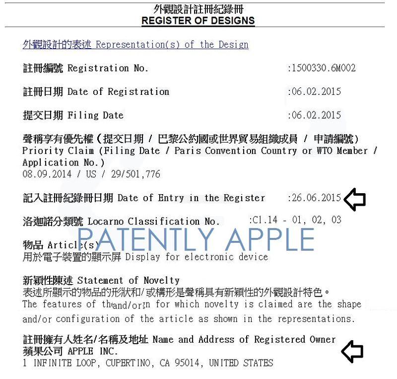 2AF 55 HONG KONG RTM -APPLE IPHONE 6 FACEPLATE