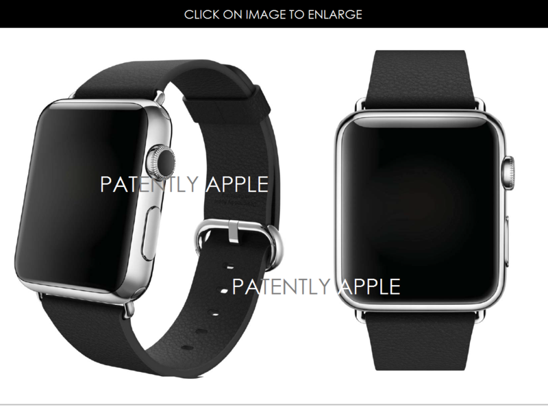 2AF 55 APPLE WATCH WITH MODERN BUCKLE DEISGN PATENT HONG KONG