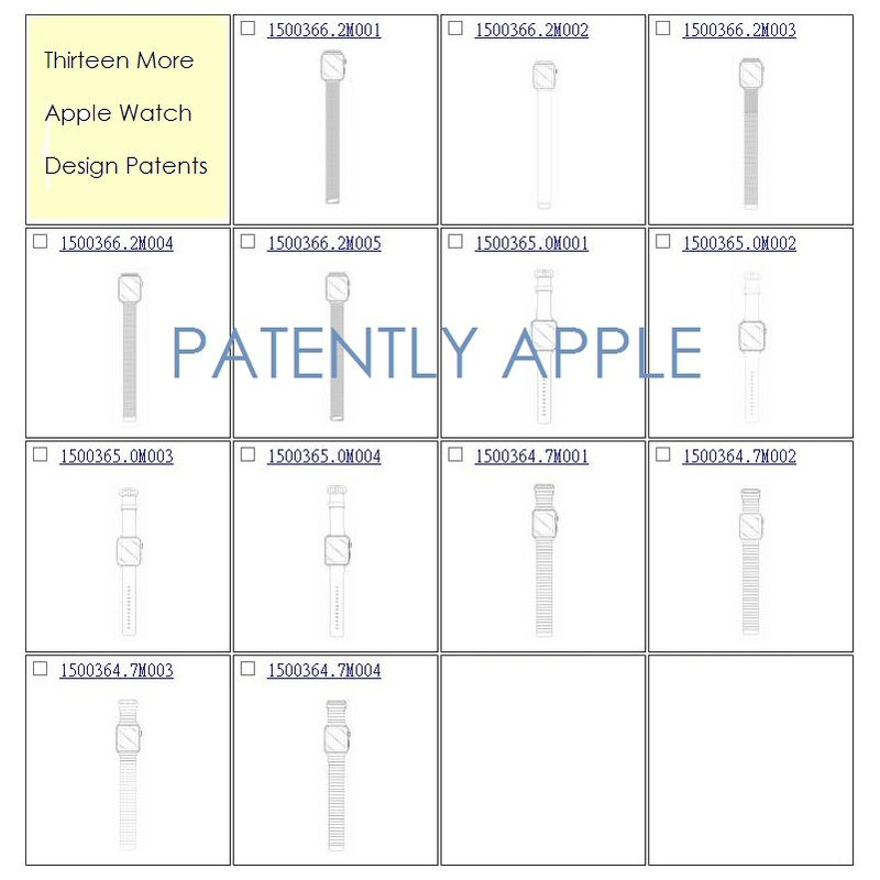 2AF 55 MORE PATENTS FOR APPLE WATCH BANDS