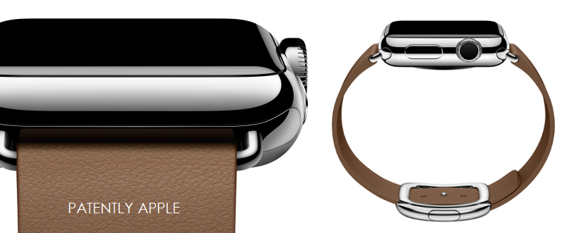 1AF 55 APPLE WATCH COVER WITH MODERN BUCKLE