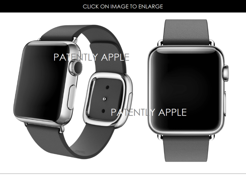 2.1 APPLE WATCH WITH MODERN BUCKLE BAND