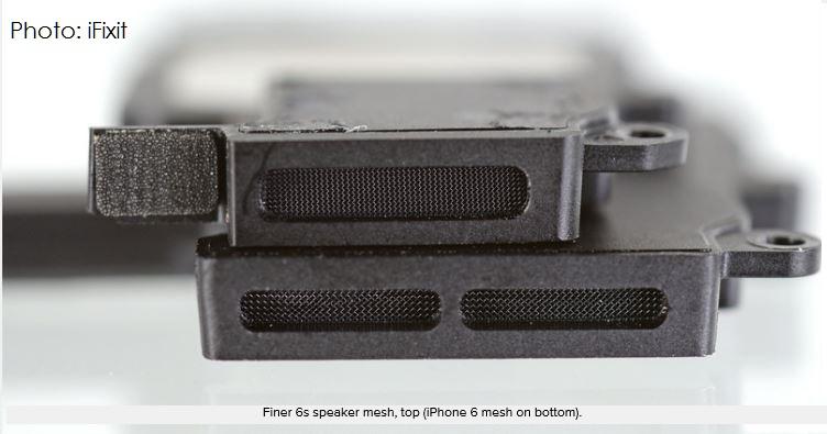 3af 55 iphone 6s finer mesh speaker