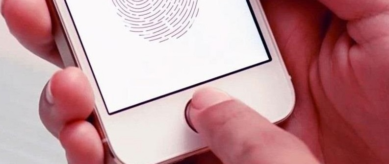 1af 55 touch id set up