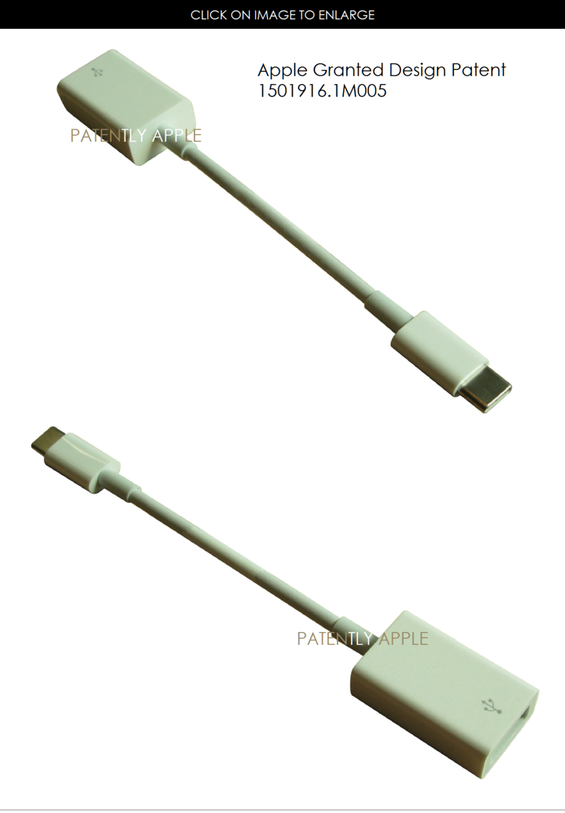 5AF 88 CABLE GRANTED PATENT