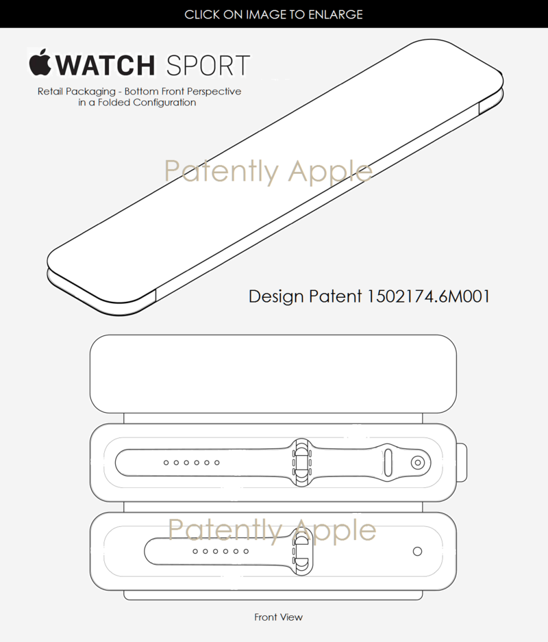 4af 55 apple watch sport retail packaging