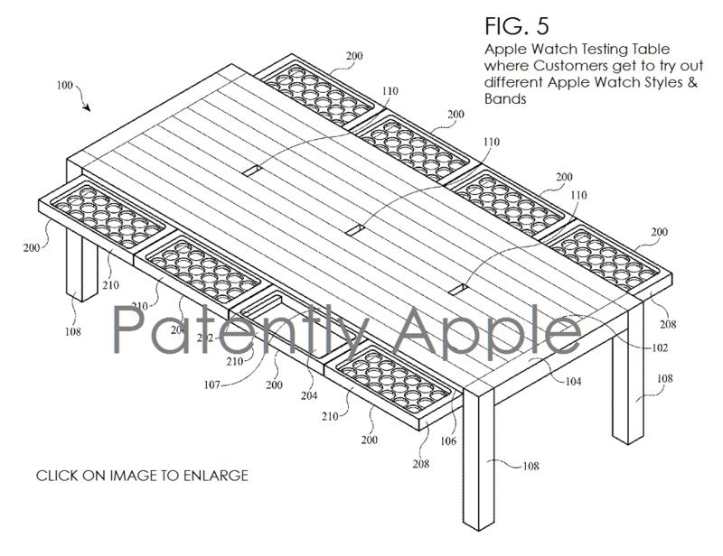 4AF 99 testing apple watch table