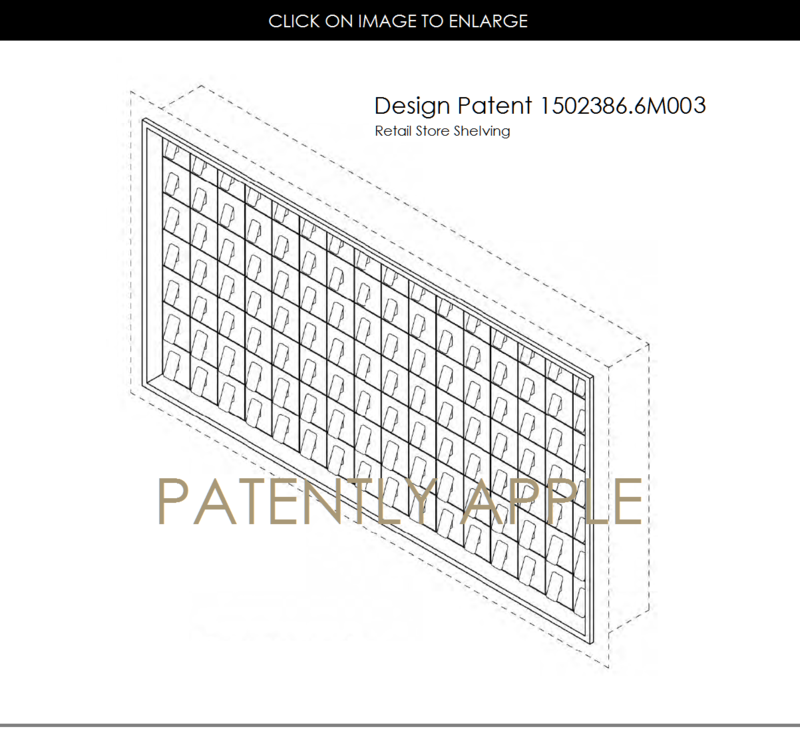 5AF 55 APPLE STORE DESIGN PATENT 6M003