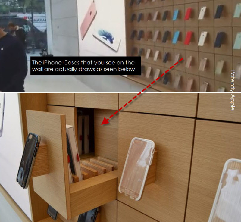 6AF APPLE STORE ACTUAL SHELVING BRUSSLES