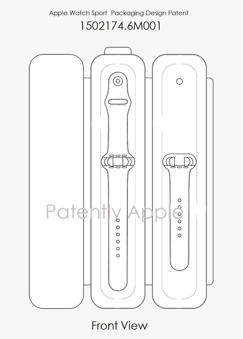 3AF 55 - apple watch case packaging design patent