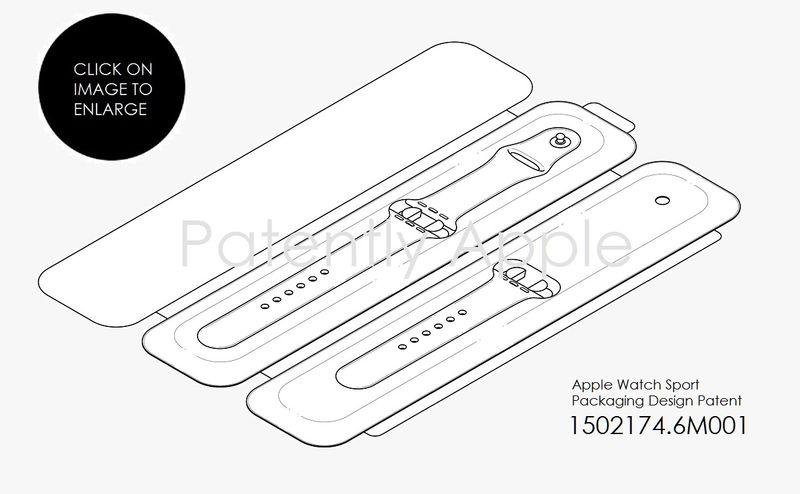 4AF 55 apple watch case DESIGN PATENT