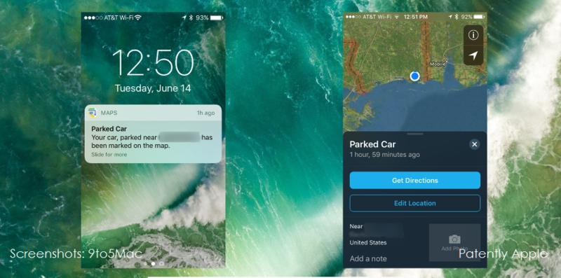 2af 55 parking app in iOS 10