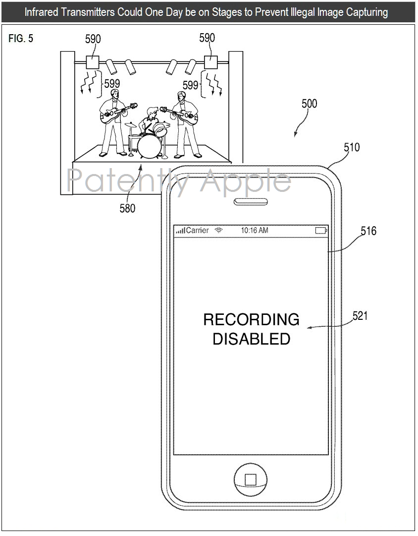 Apple Wins A Patent For An Infrared Camera System That Originally Block Diagram Iphone 5 3af 66