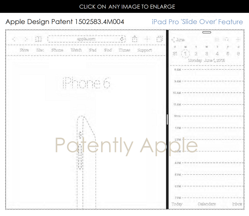 2AF 55 SLIDE-OVER IPAD PRO FEATURE DESIGN PATENT HONG KONG