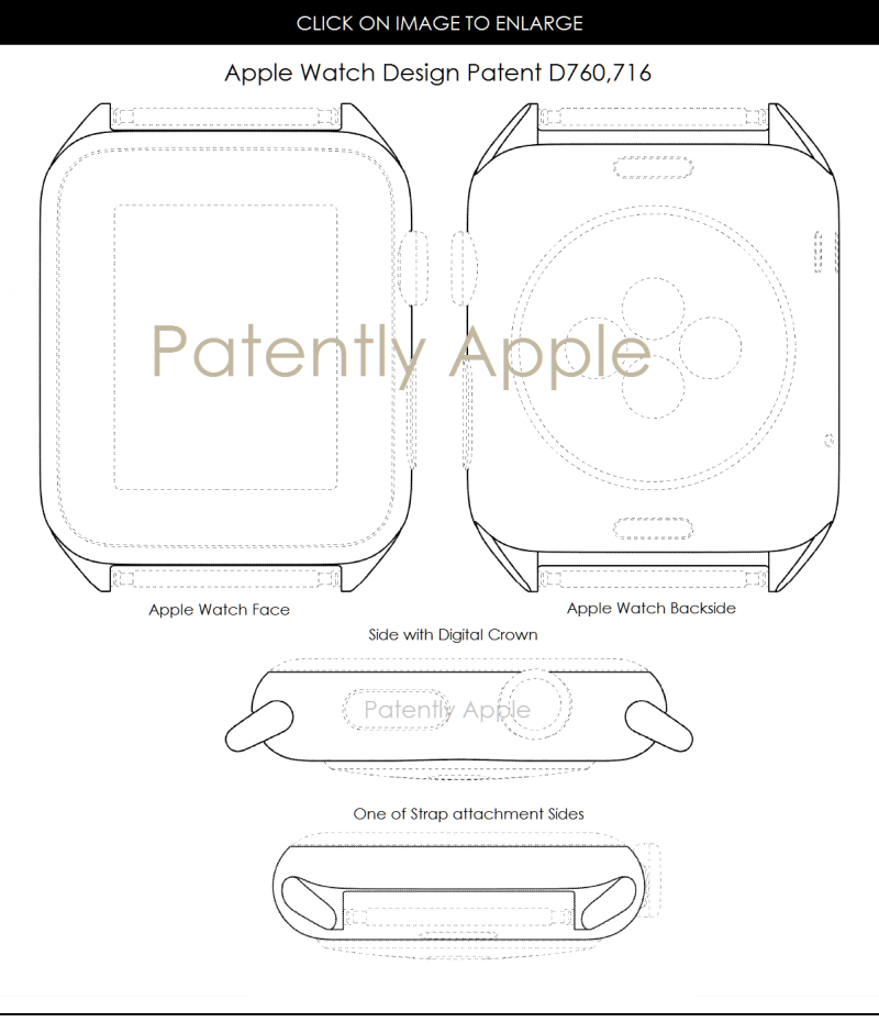 apple granted 47 patents today covering apple watch