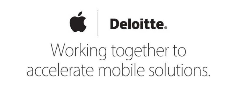 1AF X 99  COVER apple and Deloitte
