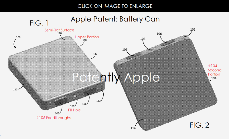 2af new battery can apple patent