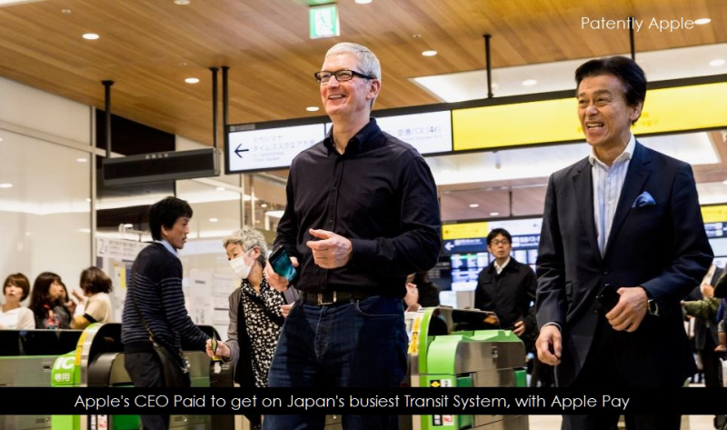 1AX 99 tim cook using apple pay on japan transit