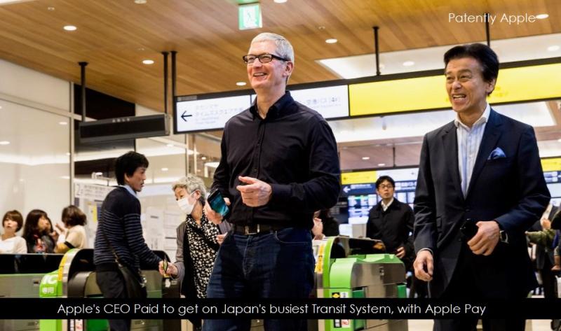 1AX 99 tim cook using apple pay on japan transit