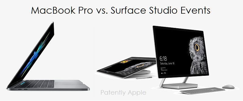 1AFX 99 MACBOOK PRO VS SURFACE STUDIO EVENTS