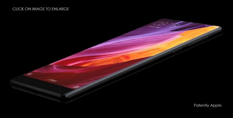 3AX 99 x Xiaomi Mi Mix smartphone