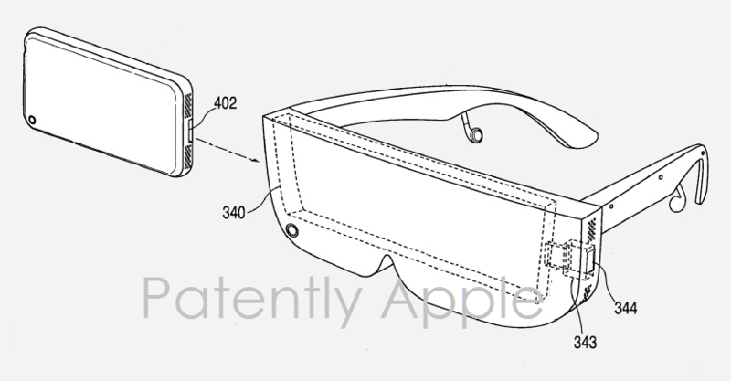 1af cover head mounted display, apple patent nov 10, 2016