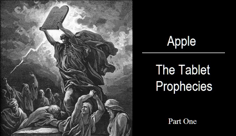 3 - TABLET PROPHECIES PHOTO OF MOSES WITH A TABLET