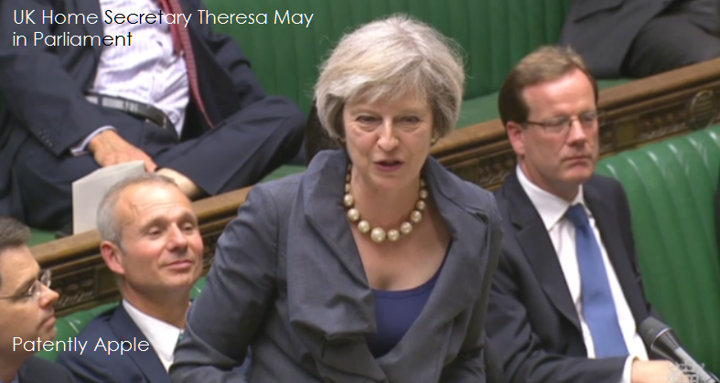 1af 99 cover Theresa May on Security Bill