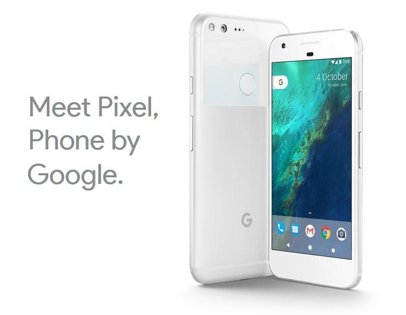 3x google pixel phone