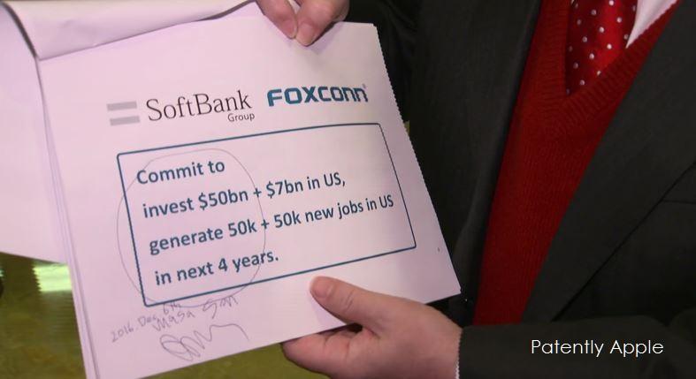 2af foxconn noted on softbank offer for jobs
