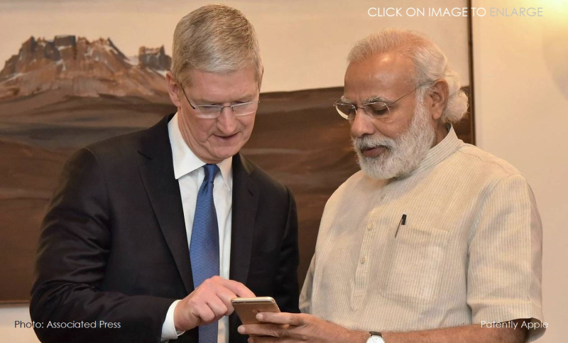 1af x 88 cover tim Cook with PM India Modi