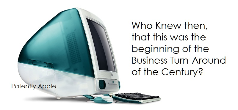 1.0K Final Cover - the iMac, Return of Steve jobs and the turn around for Apple