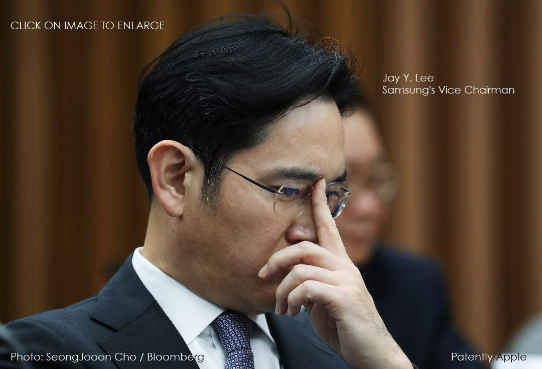photo image Samsung Heir Identified as Suspect in Bribery Case