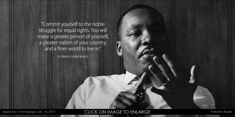 1 AX 99 martin luther king Jr 2017 Apple homepage photo