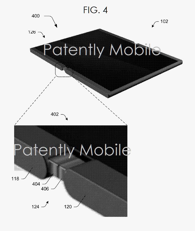 2AF X99 Microsoft folding smartphone hinge
