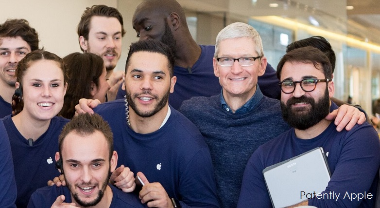 1 Ax 88 Cover Tim Cook in France apple store