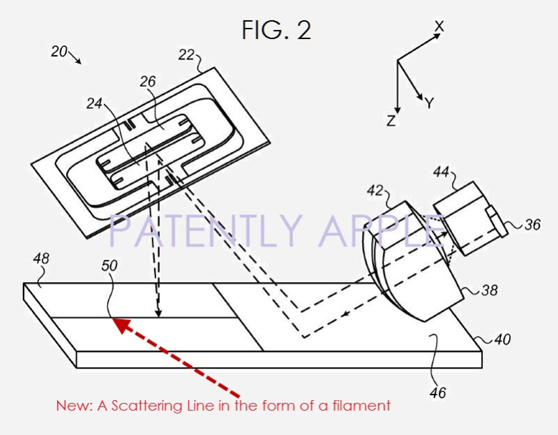 2af XX99  3d scanner patent fig 2 Apple feb 9, 2017