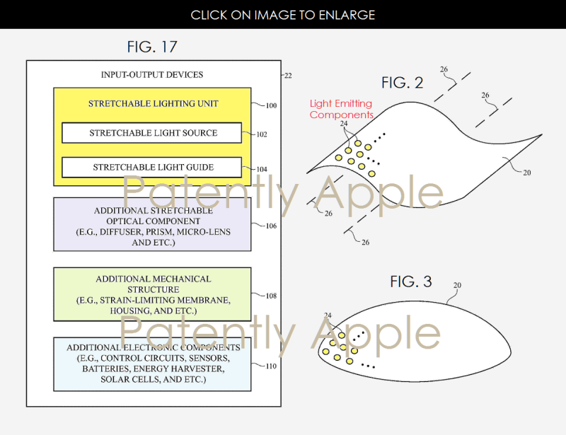 4 X99  Apple patent figs 2, 3 and 17